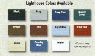 Lighthouse Colors