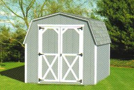 Wood Mini Barn Shed